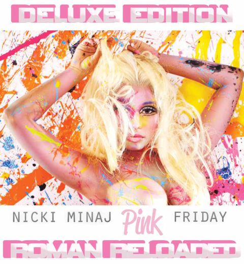 Pink Friday Nicki Minaj sophomore album cover, Donald Simrock, makeup inspiration, neon and tribal, Starships Music Video, Haley Byrd, Designer, Costumer, Inspiration from Around the World
