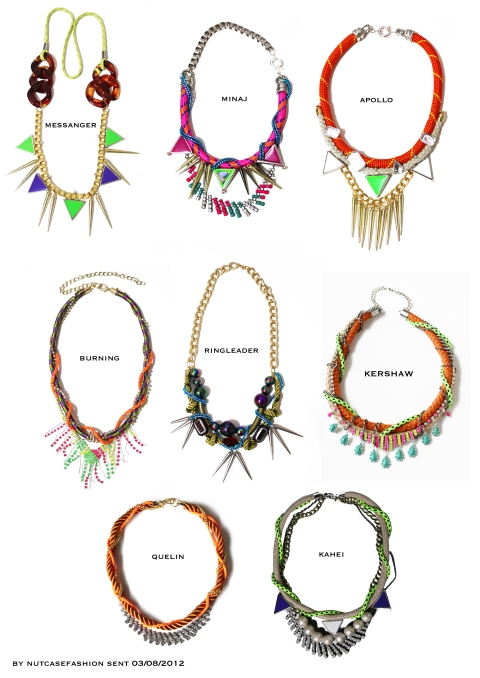 nutcase jewelry for  nicki minaj, Nicki Minaj Starships options, Haley Byrd, Costumer, Designer, Inspiration Neon and Tribal