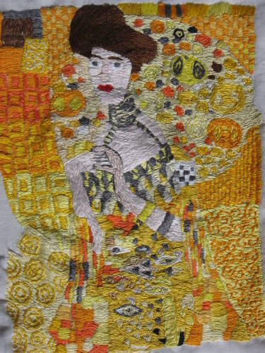 gustav klimt, gustav klimt artist inspiration, art inspired by gustav klimit, fashionrework.com, haley byrd, costumer, designer, stylist, haleybyrd.com, inspiration from around the world, embroidery rework