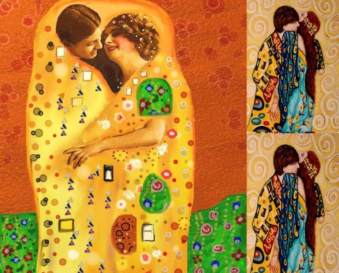 gustav klimt, gustav klimt artist inspiration, art inspired by gustav klimit, fashionrework.com, haley byrd, costumer, designer, stylist, haleybyrd.com, inspiration from around the world